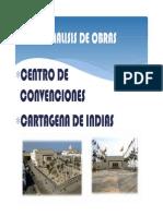 ANALISIS DE OBRAS EN CARTAGENA DE INDIAS
