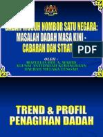Senario semasa SALAHGUNA DADAH  DI MALAYSIA.ppt