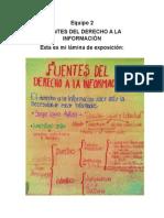 Fuentes Del Derecho a La Informacion