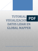 Tutorial Visualizacion de Datos Lidar en Global Mapper