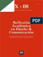 X Reflexión académica en Diseño y Comunicación