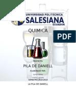 Pila de Daniel Ups Quimica