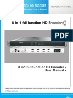 JXDH-6202QHX(M) 8 in 1 Full Function HD Encoder