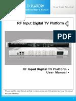 Jxdh-7004u(b)m Rf in Dtv Platform