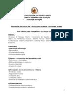 Cronograma fisiologia 2014