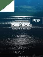 Catalog Dekkson