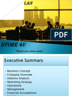 Business Plan on Retail Store
