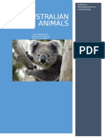 animals text
