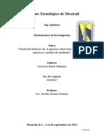 Fundamentos Investigacion a Quimicos