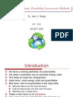 Econimic Feasibility Assessment Methodology