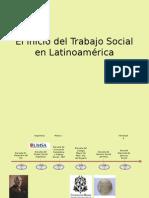 El inicio del Trabajo Social en Latinoamérica