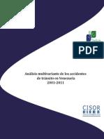 Análisis multifactorial de los accidentes de tránsito en Venezuela