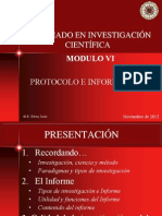 Protocolo e Informe Final