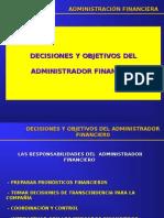 2. Decisiones y Objetivos Del Gerente