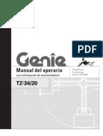 97780SP - Manual Operador TZ 34-20