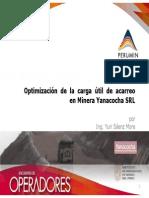 Optimización de la carga útil de acarreo en Minera Yanacocha SRL