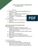 Data Mining- Discretization