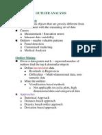 Data Mining-Outlier Analysis