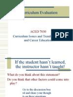 Curriculum Evaluation-Web Version(1).ppt
