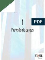 3 - Previsão de Cargas
