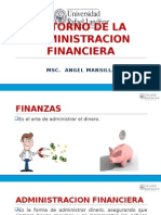 Entorno de la Administración Financiera