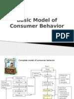 Basic Model of Consumer Behavior