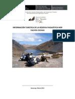 Información Turística de la Reserva Paisajistica Nor  Yauyos Cochas