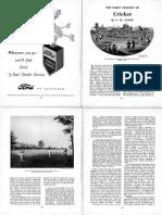 Cricket History. PDF