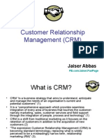 Applications of Customer Relationship Mgmt