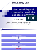 TH5 Environmental Regulation in Exploration and Production