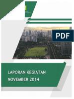 Laporan Bulan November 2014