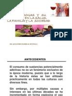 Drogas Daños Salud, Familia y Sociedad