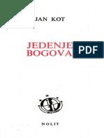 Jan Kot - Jedenje bogova