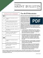 ES Parent Bulletin Vol#17 2015 May 8