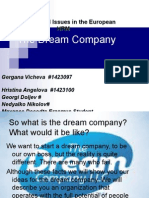 Our Dream Company
