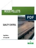 BM Quality Control of Wood Pellets