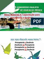 Congresso Paulista de Eeducaçao Medica