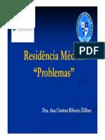 Residencia Medica Problemas