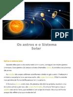 Astros e Sistema Solar