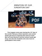 Celebration of Our Foundation Day123