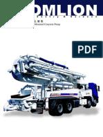 Zoomlion Truck Mounted Concrete Pump