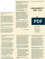 Annulments Brochure
