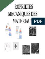 Cours Proprietes Mecaniques Des Materiaux
