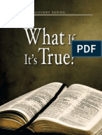 My What if Its True Examining Four Important Spiritual Questions