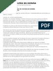 Minas de Coltán en España