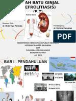 F7 - Nefrolitiasis (Qeew) (19 Slides)