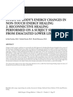 Study of Non Touch Energy Healing