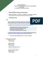 Buletin Informativ MFE 2013