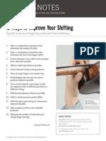 13 Ways to Improve Shifting