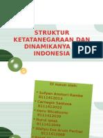 Struktur Ketatanegaraan Dan Dinamikanya Di Indonesia